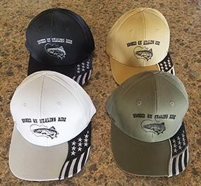 hooked on healing veterans ball cap
